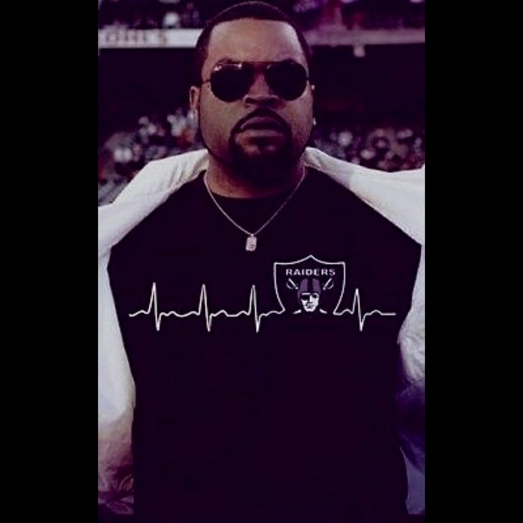 RAIDERS HEARTBEAT SHIRT