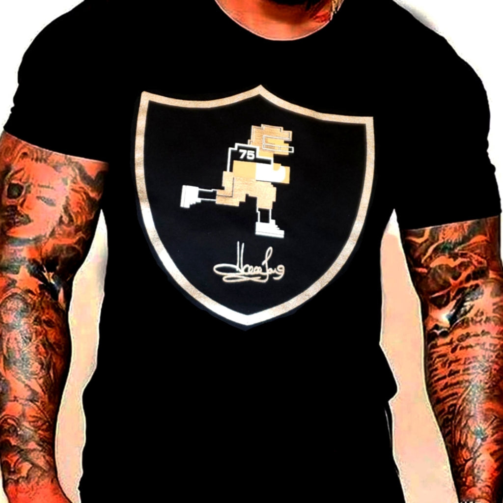 RAIDERS HOWIE SILVER PLATED SHIRT
