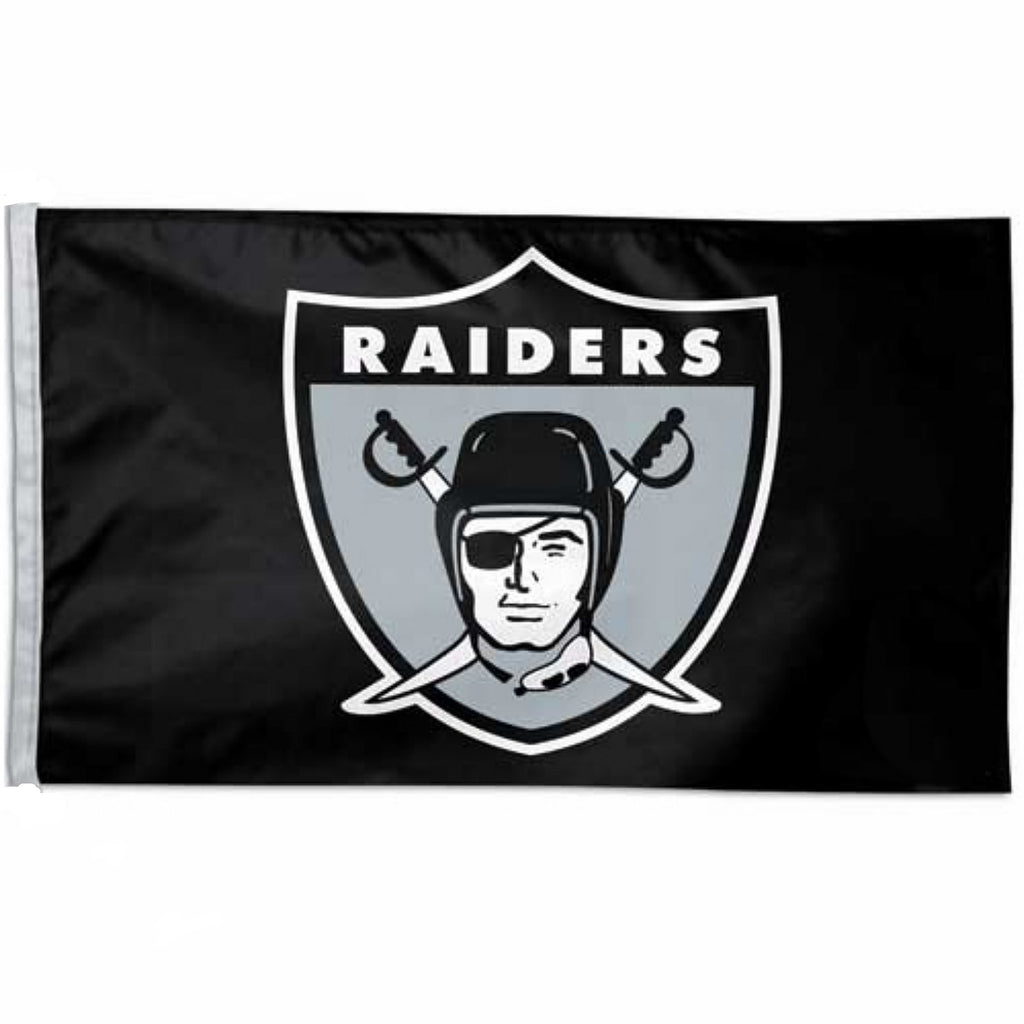 RAIDERS RETRO FLAG-RaiderNationStore