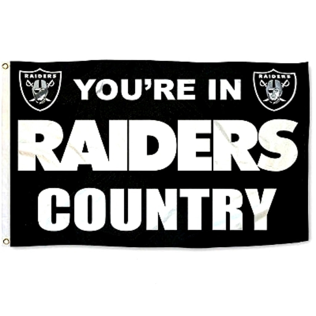 RAIDERS COUNTRY FLAG-RaiderNationStore