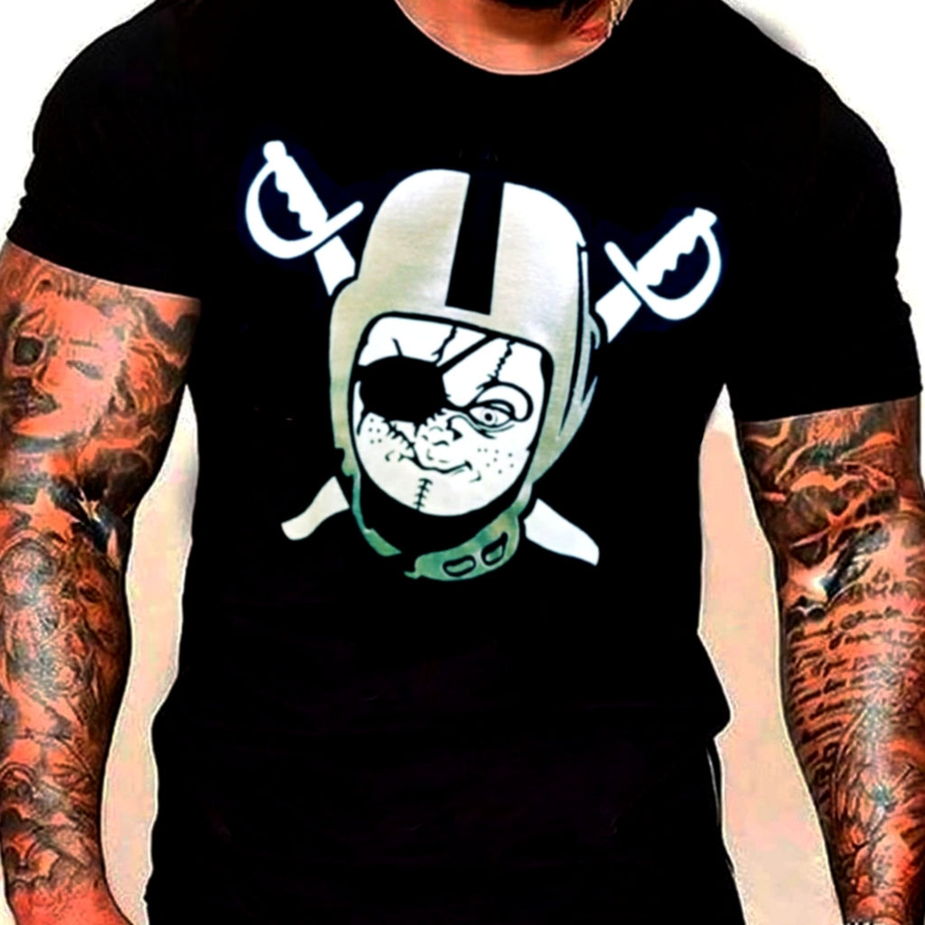 RAIDERS CHUCKY SHIRT