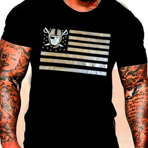 RAIDERS STARS AND STRIPES SHIRT-RaiderNationStore