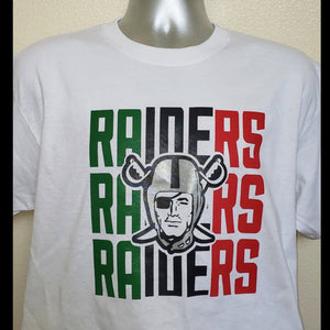 RAIDERS WHITE SHIRT