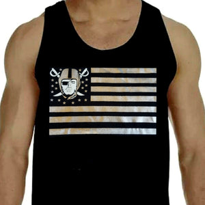 RAIDERS STARS AND STRIPES TANK TOP