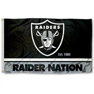 RAIDER NATION FLAG-RaiderNationStore