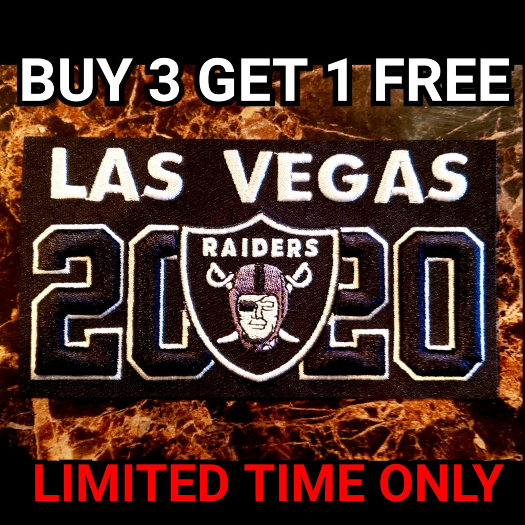 LAS VEGAS RAIDERS 2020 PATCH-RaiderNationStore