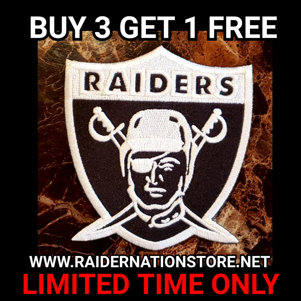 RAIDERS RETRO REVERSE PATCH