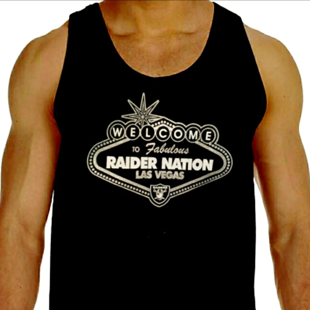 RAIDERS LAS VEGAS RAIDER NATION TANK TOP