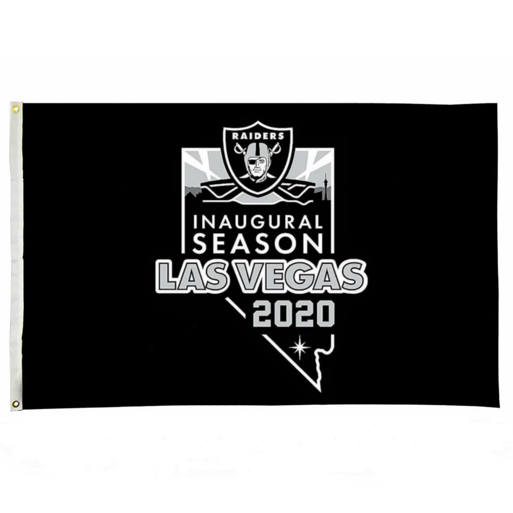 LAS VEGAS RAIDERS INAUGURAL FLAG-RaiderNationStore