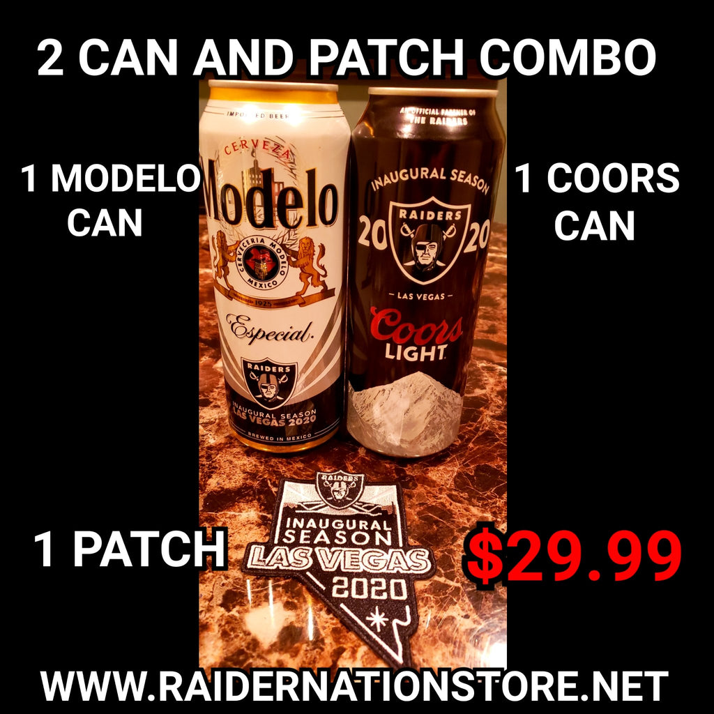 MODELO CAN COORS CAN PATCH COMBO