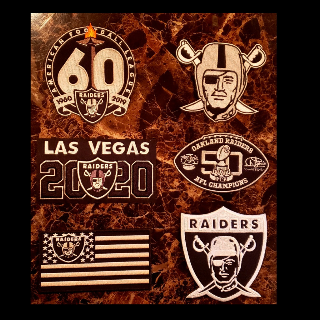 6 RAIDER PATCH COMBO DEAL-RaiderNationStore