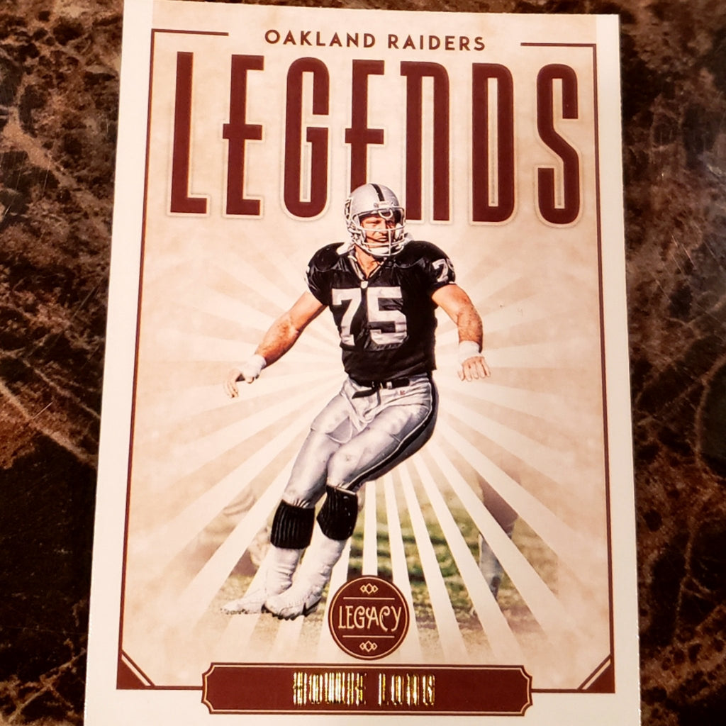 HOWIE LONG LEGACY LEGENDS CARD-RaiderNationStore