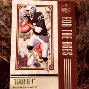 MARCUS ALLEN LEGACY LEGENDS CARD-RaiderNationStore