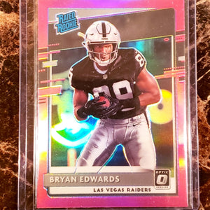 BRYAN EDWARDS RATED ROOKIE CARD-RaiderNationStore