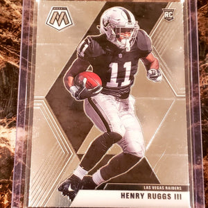 HENRY RUGGS III MOSAIC ROOKIE CARD-RaiderNationStore