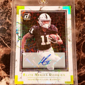HENRY RUGGS III ELITE SERIES AUTOGRAPHED ROOKIE CARD-RaiderNationStore