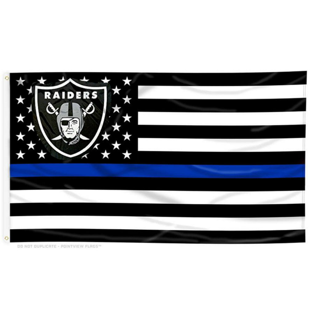 RAIDERS LEO FLAG-RaiderNationStore