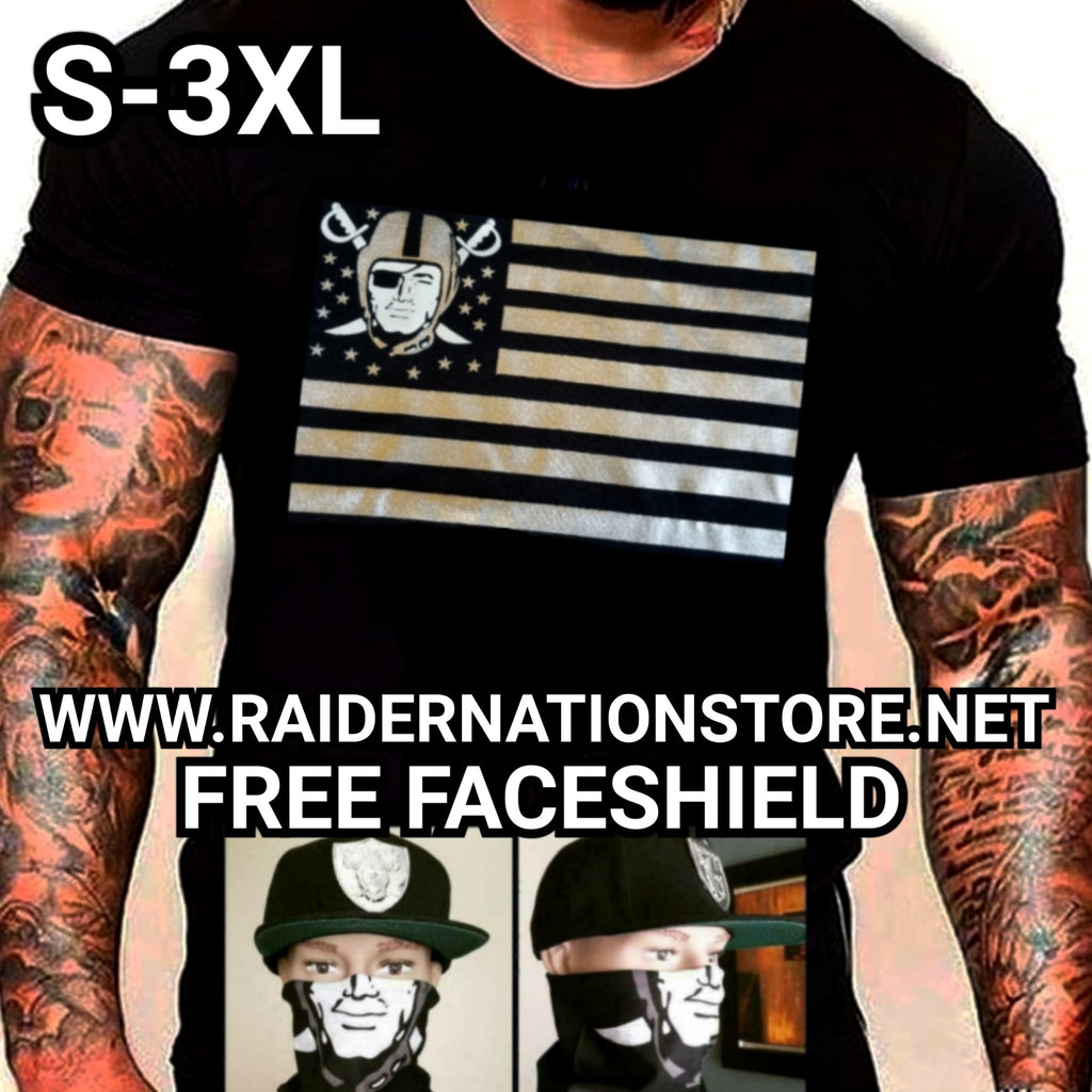 RAIDERS STARS AND STRIPES SHIRT