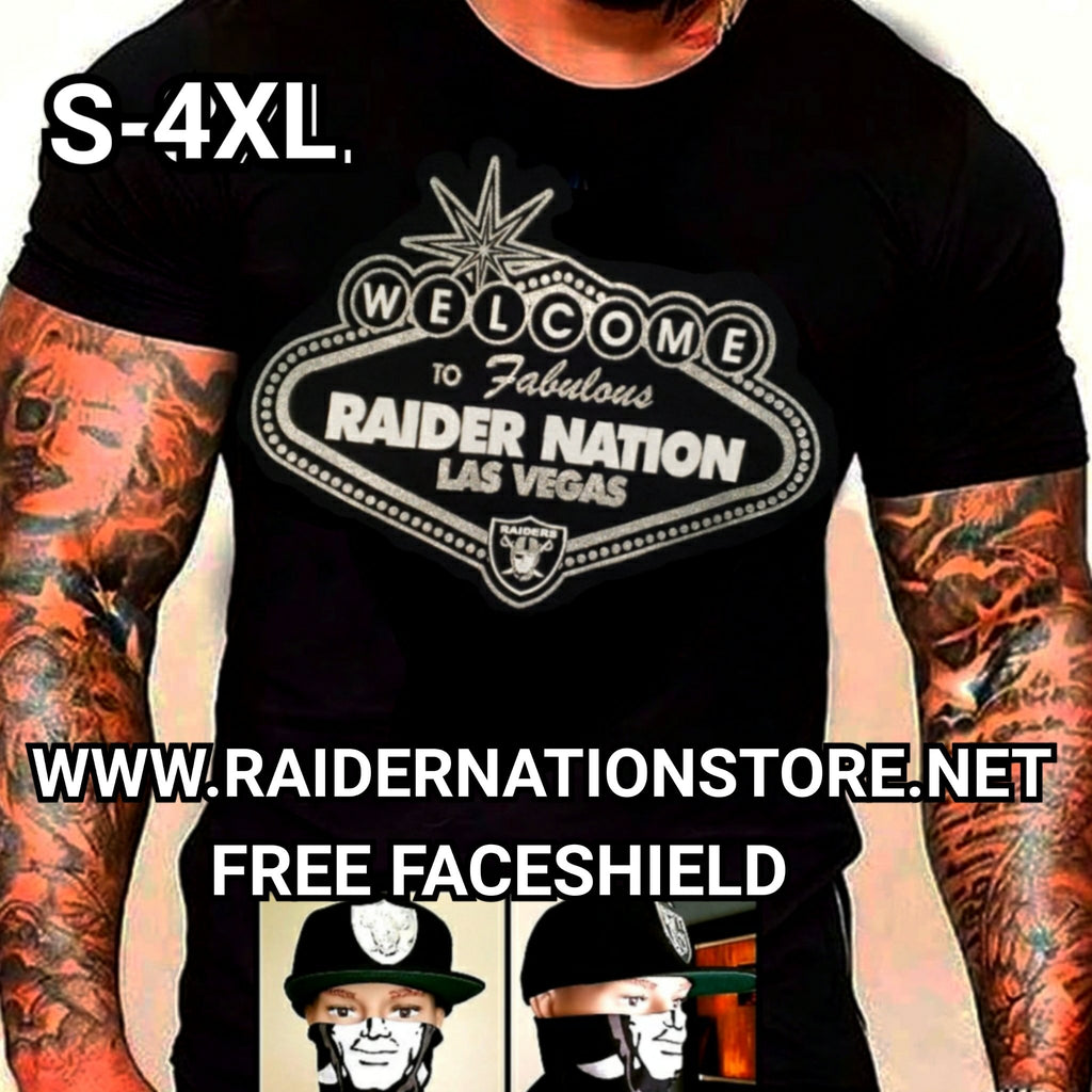 RAIDERS LAS VEGAS RAIDER NATION SHIRT