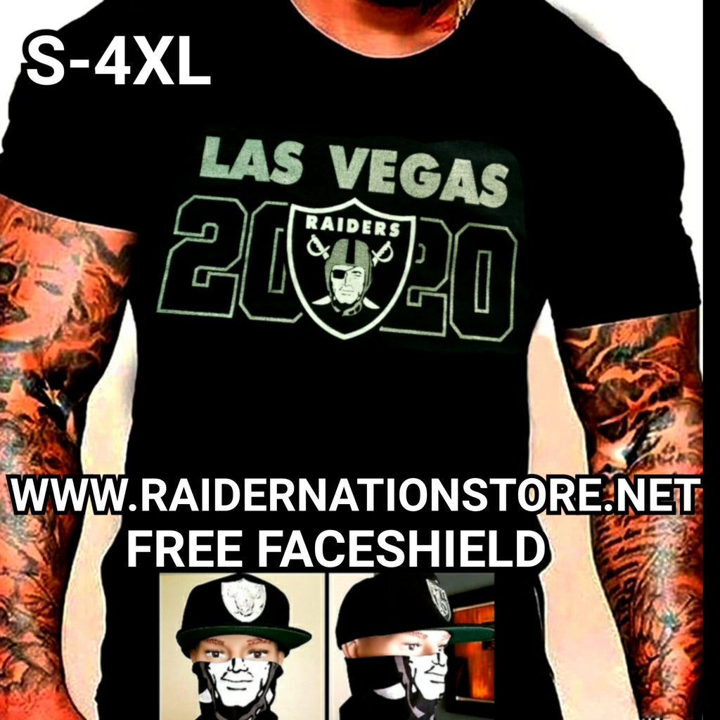 LAS VEGAS RAIDERS 2020 SILVER PLATED SHIRT