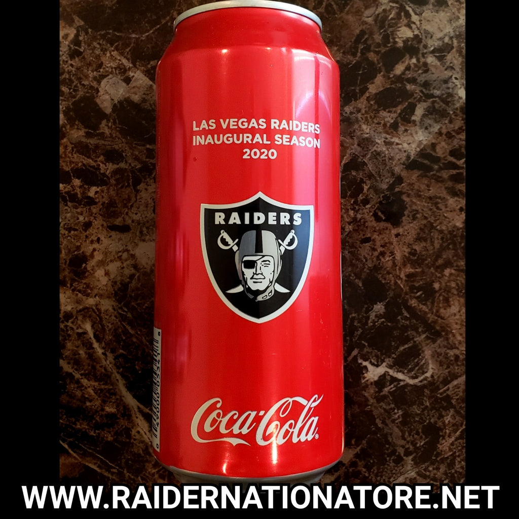 RAIDERS INAUGURAL COCA COLA FULL CAN