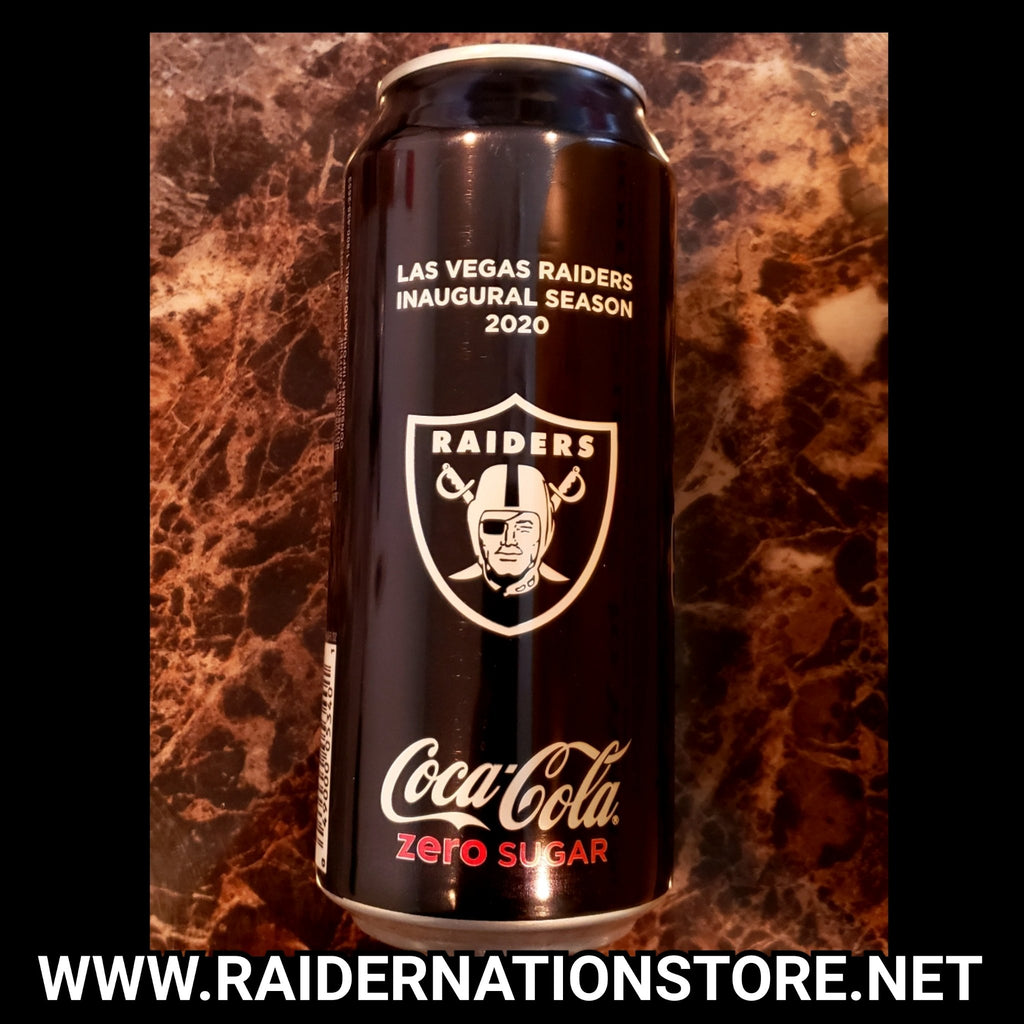 RAIDERS INAUGURAL COKE ZERO FULL CAN