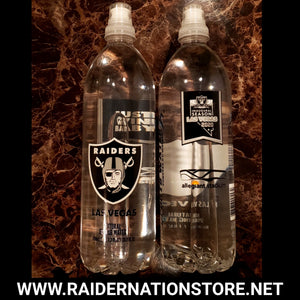 RAIDERS INAUGURAL 24 OZ  FULL BOTTLED WATER