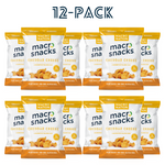 'Cheddar Cheese' Flavor Macro Snacks - 12 Pack - 1.2oz Bags