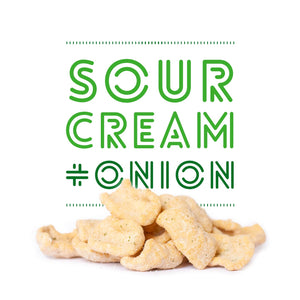 Sour Cream and Onion Plant Protein Chips - 6 Pack - Macro Snacks