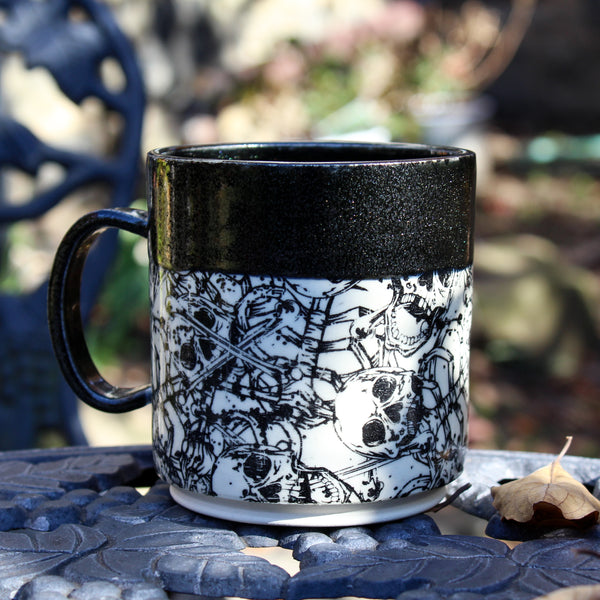 Midnight Skeleton Mug SECOND