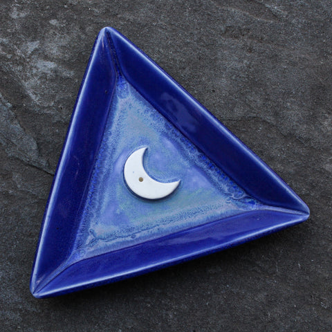 Triangle Moon Incense Dish 2