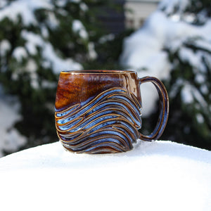 Canyon Rapids Waves Mug 3