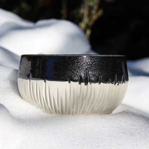 Black and White Forest Bowl