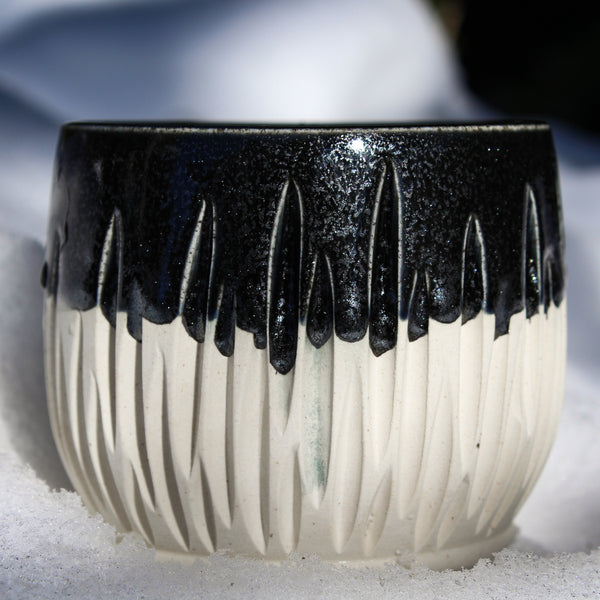 Black and White Forest Sipper