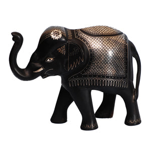 "Bidriware Elephant - 5"" inches"