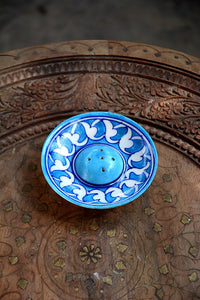 Blue Pottery Sky Blue Wing Incense Holder