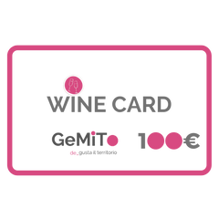 regali natale 2019 vino. wine card. GeMiTo