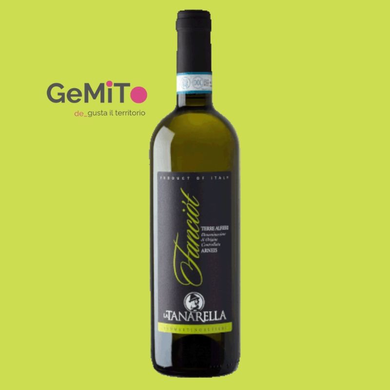 ARNEIS white piedomn wine FANCIOT - 2018