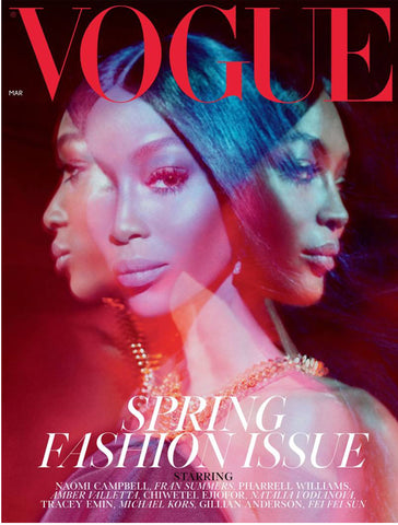 Featured in the March 2019 issue of British Vogue