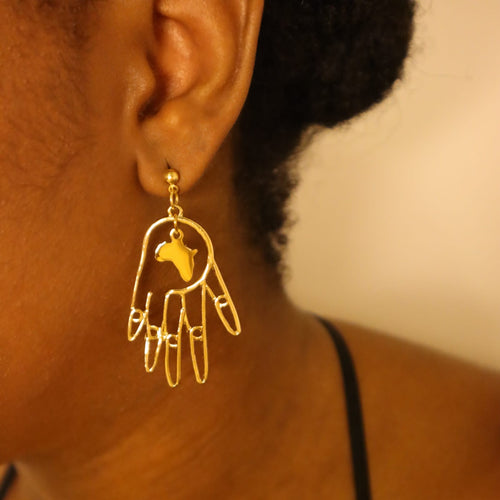 Africa in my DNA earrings