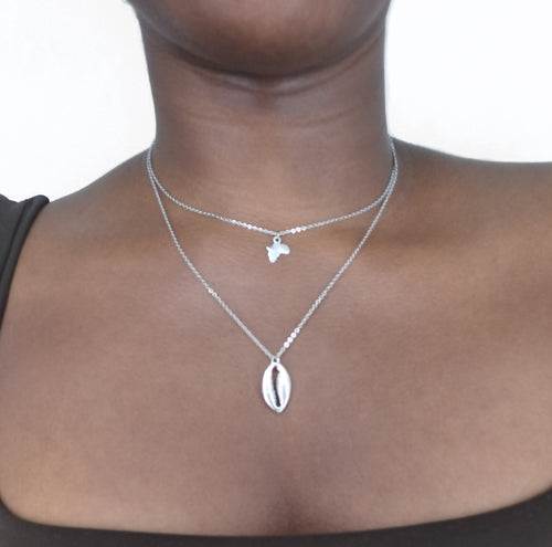 Afrika layered necklace