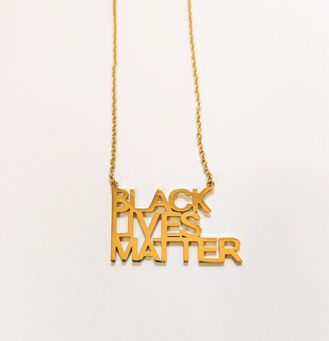 Black Lives Matter Necklace