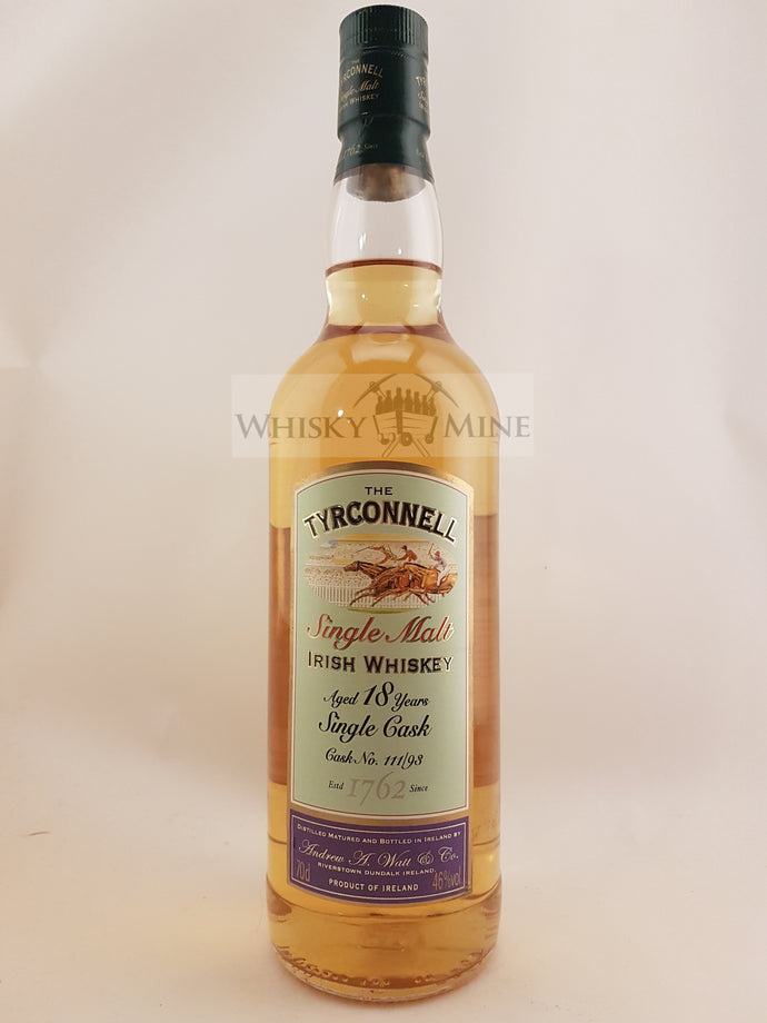 Tyrconnell 18yo single cask 111/93