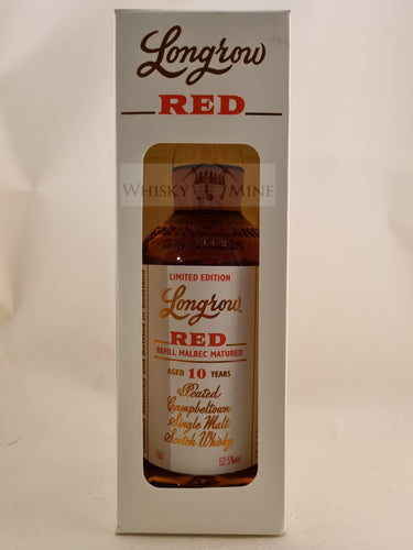 Longrow Red 10yo Malbec 52.5%