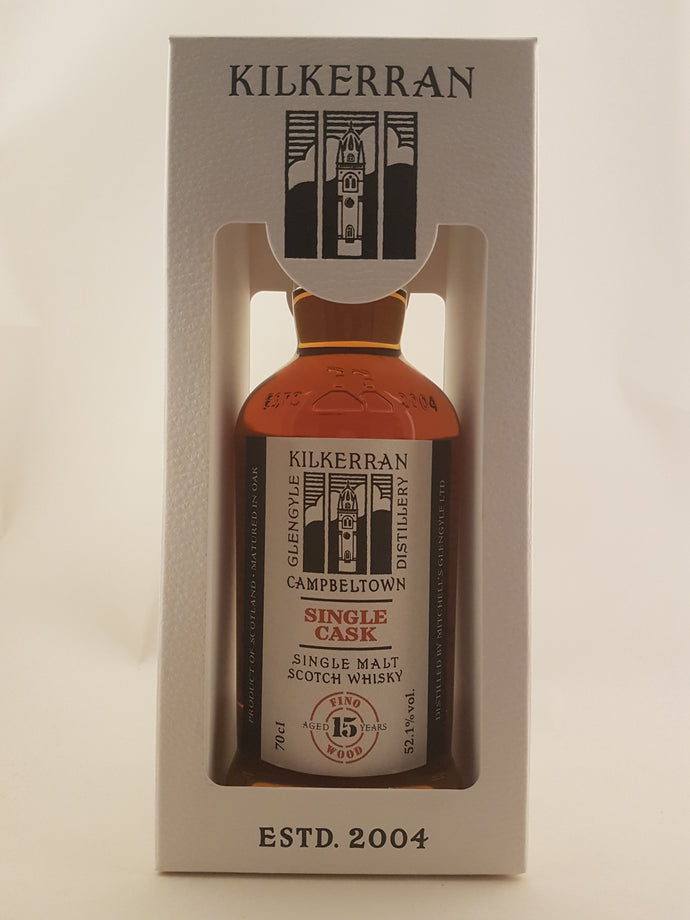 Kilkerran 15yo single cask Fino Wood 52.1%