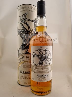 Talisker select reserve House of Greyjoy
