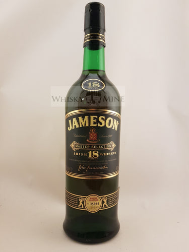 Jameson Irish Whiskey 18 Year Master Select