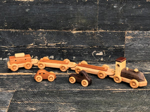 Wooden Car-Go Train