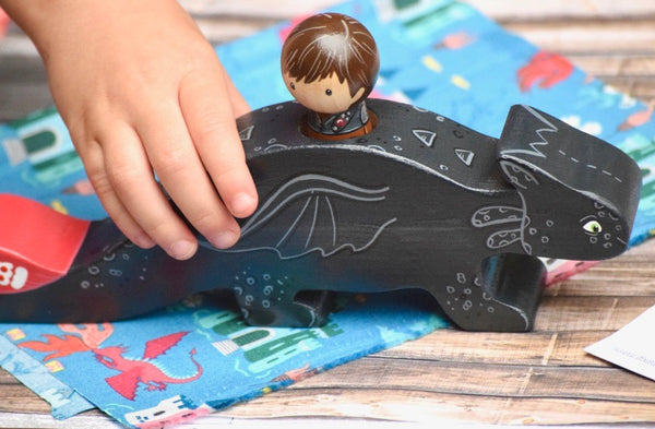 How to Train your Dragon Toy - Hiccup and Toothless