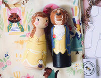 Tall Belle & Beast - Set of 2